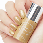 Hand och flaska, Gold Glitter